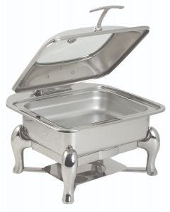 6.9 qt. Square Reflection Induction Server Stand