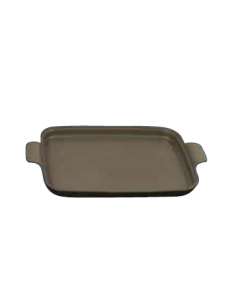"""Motif, Square, Induction-Ready Tray,  12-3/4 x10-3/4"""""""", Bronze coated"""
