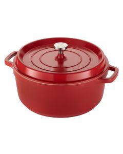 Ironlite Professional Servingware, Deep Casserole Dish, Red