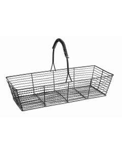 Wire Basket, Small, Matte Black