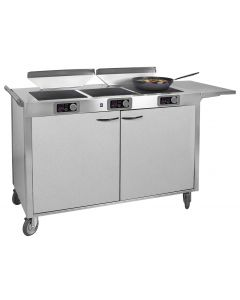 ICS 3 Range Mobile Cooking Station, 1800W