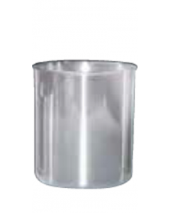 Canister,  Stainless Steel, 5.5 in.  Ht., 1.5Liter