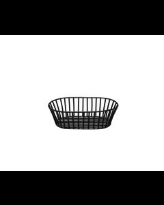 Industrial Basket, Oval, Matte Black