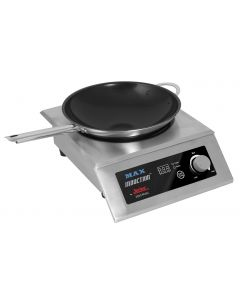 Reconfigurable Max Induction Range, Countertop With Vulcano Fry Pan