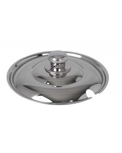 Soup/Oatmeal Induction Service Notched Tureen Cover