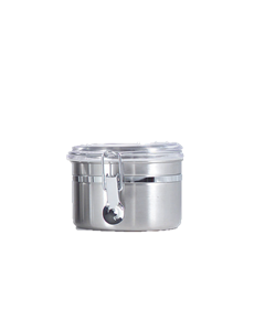 0.7 qt. Canisters w/Clear Acrylic Locking Lid