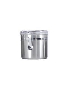 1.0 qt. Canisters w/Clear Acrylic Locking Lid