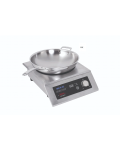 Reconfigurable Max Induction Range, Countertop With Primo Wok Pan