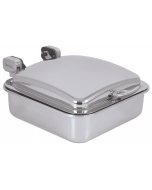 "Buffet Server, Rectangular, 2/3, Stainless Steel,6 Quart, 15-3/8"" x 15-5/8"""
