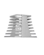 "Xcessories Display Tower, Stainless Steel 9"""