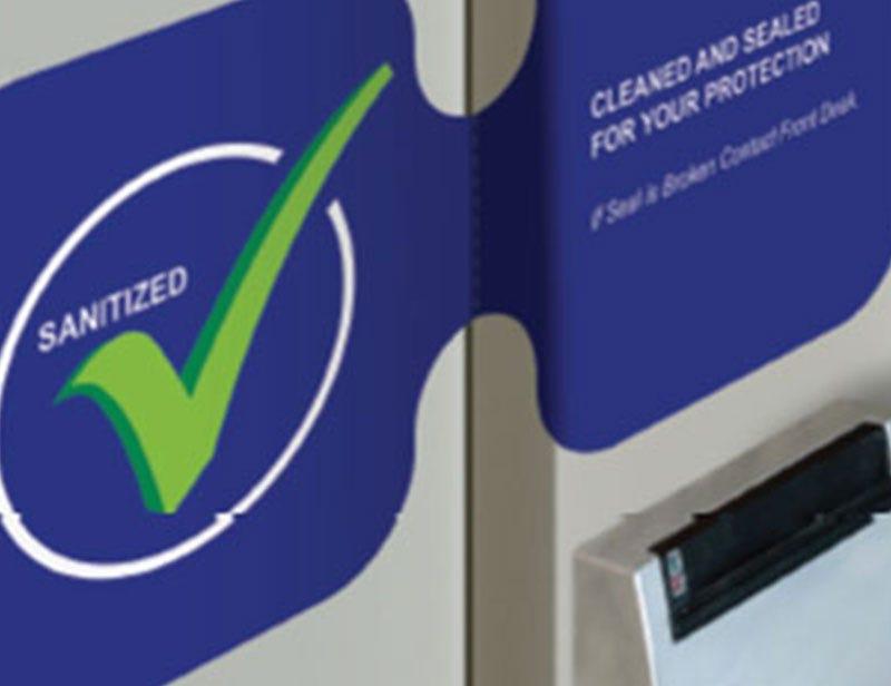Spring USA Sanitation Safety Floor Decals Door Seals