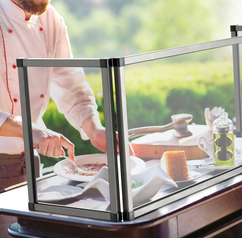Spring USA foodservice sneeze guards safety products