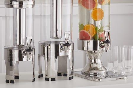 Hands free beverage dispenser