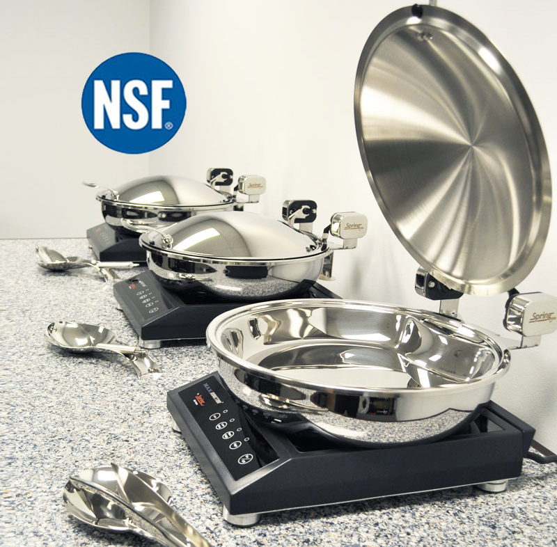 Spring USA NSF certified food service equipment safety products